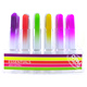 Opal London Neon Day Glo Glass Nail File YELLOW